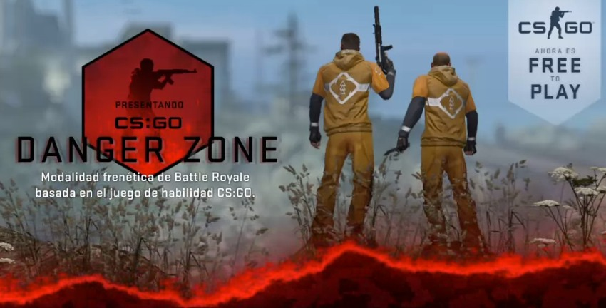 CSGO se vuelve Free To Play y con Modo Battle Royale!