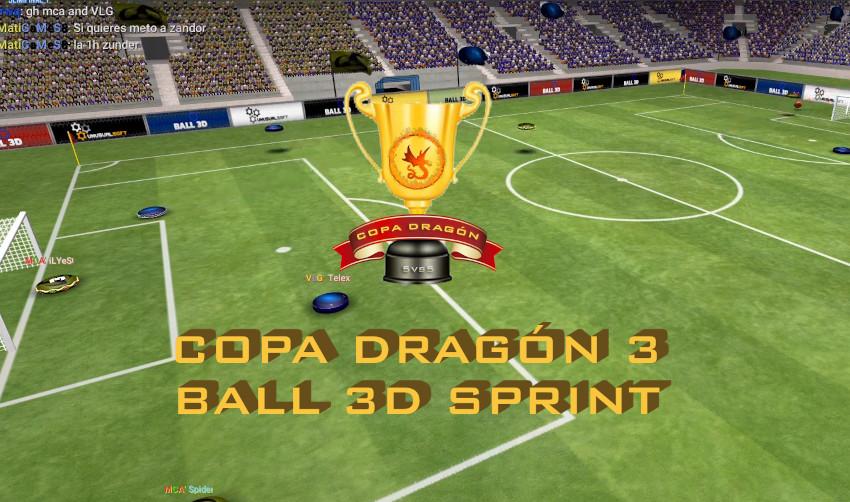 Resultados Semifinales Copa Dragón Sprint  V5 Ball 3D