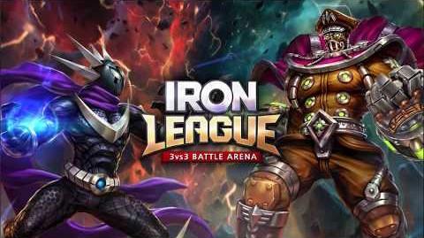 Iron League nuevo juego para torneos