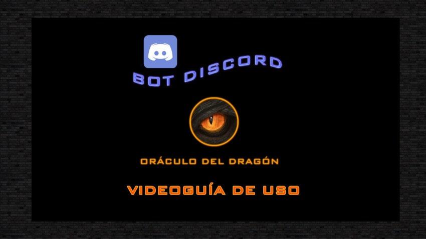BoT Discord buscador servidores Oráculo del Dragón