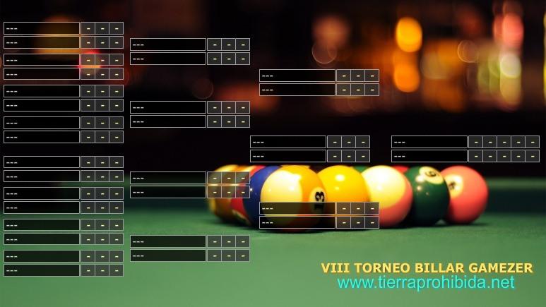VIII Torneo Billar