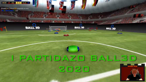I Partidazo Ball3D 2020 - Red 0-1 Blue - EnderQuare MvP
